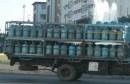 توزيع قوارير غاز