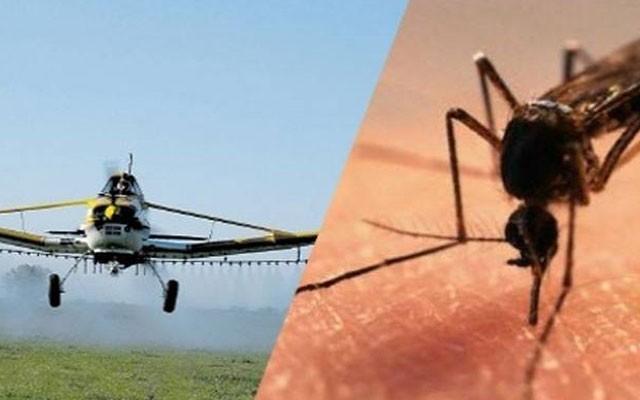 مقاومة الحشرات بالطائرات