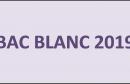 BAC BLANC 2019