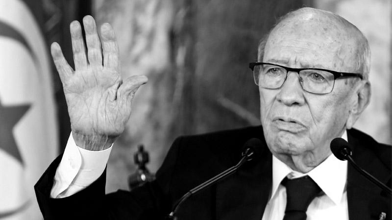 مؤسسة الإذاعة التونسية تنعي الرئيس محمد الباجي قائد السبسي رئيس الجمهورية التونسية