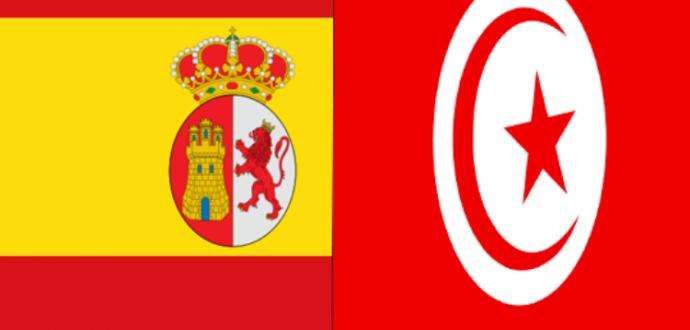 علم-إسبانيا-وتونس